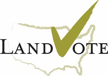 LandVote(TM) Logo