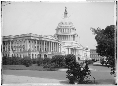 U.S. Capitol, 1917, by Robert Runyon